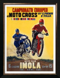 Moto Club Imola Motocross Poster by Pozzi