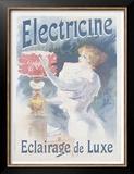 Electricine Prints by Lucien Lefevre