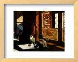 Chop Suey Posters by Edward Hopper