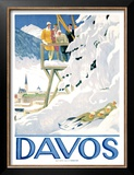 Davos Poster by Emil Cardinaux