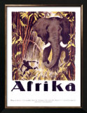 Afrika Posters by Otto Baumberger
