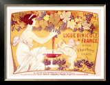 Ligue Vinicole de France Prints by Manuel Orazi