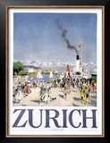 Zurich Prints by Otto Baumberger