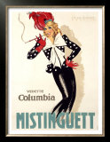 Mistinguett Prints by Jean-Dominque Van Caulaert