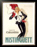 Mistinguett Prints by Jean-Dominque Van Caulaert