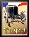 Peugeot, 1919 Posters by René Vincent