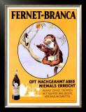 Fernet-Branca Posters by Aldo Mazza