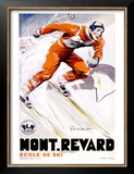 PLM, Mont Revard Posters by Paul Ordner