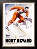 PLM, Mont Revard Posters by Paul Ordner
