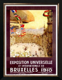 Expo Universelles Bruxelles, 1910 Posters by Henri Cassiers