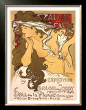 Salon des Cent, 1896 Art by Alphonse Mucha