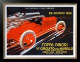 Coppa Ginori, Auto Race, Florence Print