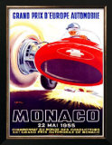 Monaco Grand Prix, 1955 Prints by J. Ramel