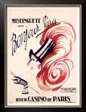 Mistinguett, Bonjour Paris Prints by Charles Gesmar