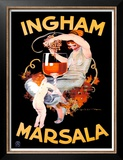 Ingham Marsala Prints by Marcello Dudovich