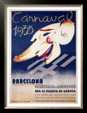 Carnaval Barcelona Print by Blay Augusto Oliva