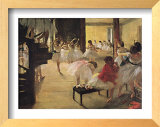 Ballet School Poster by Edgar Degas