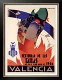 Festividad de Fallas Valencia Prints by Arturo Ballester