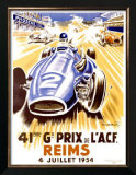 41st Grand Prix of the Automobile Club de France, Reims Prints by Geo Ham