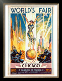 World's Fair, Chicago, 1933 Prints by Glen C. Sheffer
