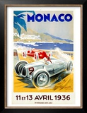 Monaco Grand Prix, 1936 Prints by Geo Ham