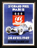 2nd Grand Prix de Paris Posters by Geo Ham
