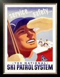 The National Ski Patrol System Poster