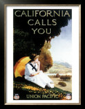 Union Pacific, California Calls Prints
