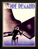 Andre Renaud Posters by Paul Colin
