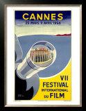 Cannes, VII Festival International du Film, 1954 Prints by  Piva