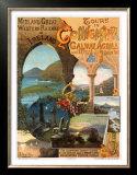 Tour Ireland Connemira Mgw Railway Poster by Hugo D'Alesi