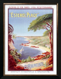 St. Raphael Beach Resort Prints by Henri Gray