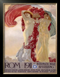 Rome, 1911 Posters by Francesco Terzi