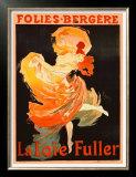Folies Bergere, La Loie Fuller Posters by Jules Chéret