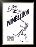 Wimbledon Tennis Prints by  Andrews & Power