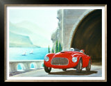 Ferrari Barchetta Roadster Poster by Bill Northup