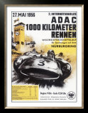 Nurburgring 1000 Auto Race, c.1956 Prints