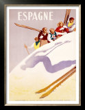 Espagne Print by  Morell