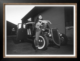 Rock-a-Billy Queen Rat Rod Prints by David Perry