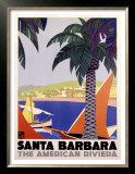 Santa Barbara American Riviera Prints