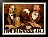 Hurlimann Bier Prints
