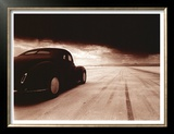 1940 Coupe Salt Flat Racer Posters by David Perry