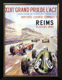 Reims F1 French Grand Prix, c.1960 Prints