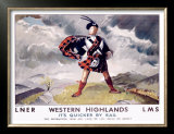 LNER, Western Highlands Prints