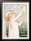 Absinthe Robette Prints by Privat Livemont