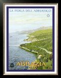 Abbazia, The Pearl of the Adriatic Posters