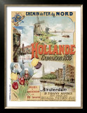 Chemin de Fer du Nords, Hollande Prints by Gustave Fraipont