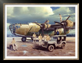 B-24 Consolidated Liberator Bomber Prints by Carlos Garcia
