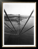 Construction of the Golden Gate Bridge Posters