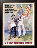 The Navy Needs You! Poster